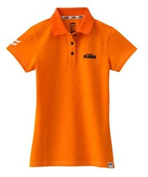 Bild von GIRLS RACING POLO ORANGE