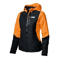 Bild von Woman Orange Jacket